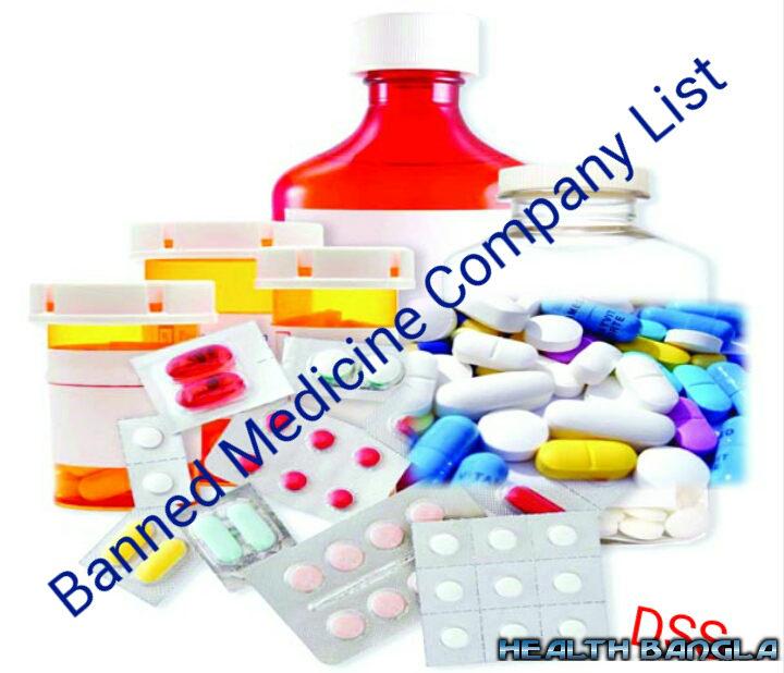 Bangladeshi Banned Medicine Company